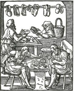 English occupations -- shoemaker