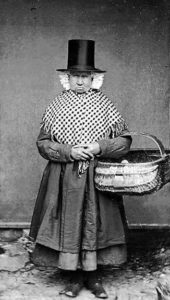 Mary Parry, Llanfechell, Wales, ca. 1875. Photograph by John Thomas. National Library of Wales.