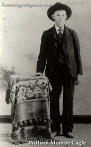 CAGLE, William Monroe