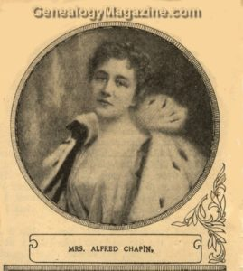 CHAPIN, Alfred Mrs