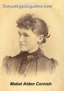 CORNISH, Mabel Alden