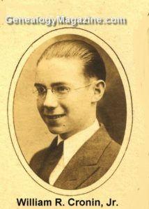 CRONIN, William R Jr