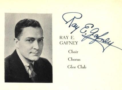 GAFFNEY, Ray E