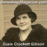 GIBSON, Susie Crockett