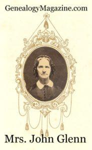GLENN, John Mrs