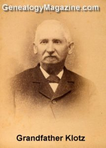 KLOTZ--Grandfather