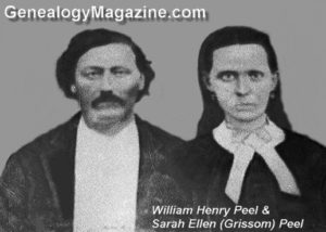 PEEL, William Henry and Sarah Ellen Grissom
