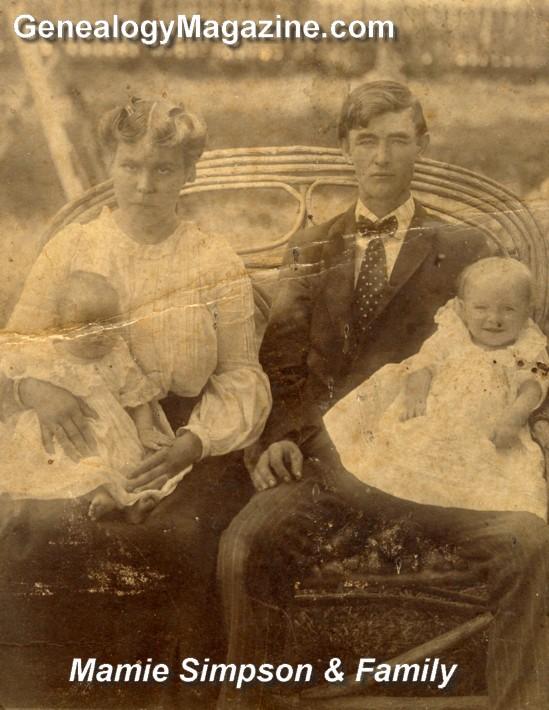 SIMPSON, Mamie family