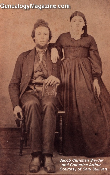 SNYDER, Jacob and Catherine Arthur