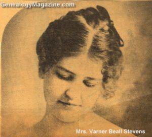 STEVENS, Varner Beall Mrs