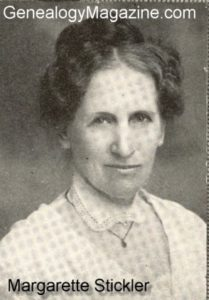 STICKLER, Margarette
