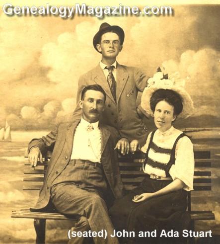 STUART, John and Ada