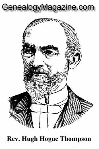 THOMPSON, Hugh Hogue Rev