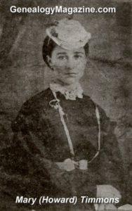TIMMONS, Mary Howard