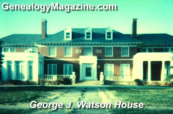 WATSON, George J house