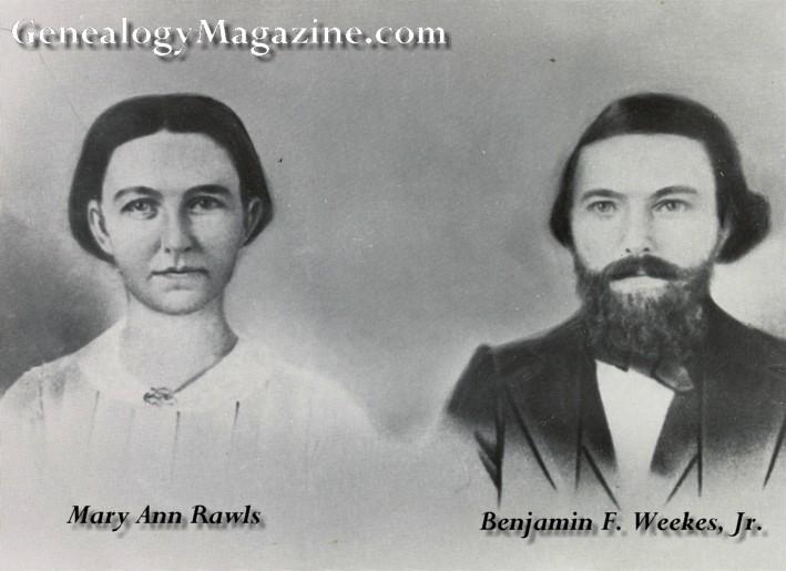 WEEKS, Benjamin F Mr and Mrs