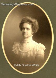 WHITE, Edith Dunton