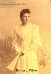 WHITE, Emma L 1