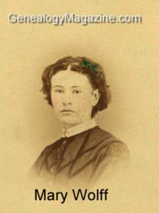 WOLFF, Mary