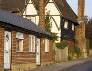 House In A Typical English Village