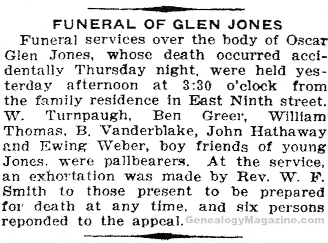 JONES, Glen Part 2