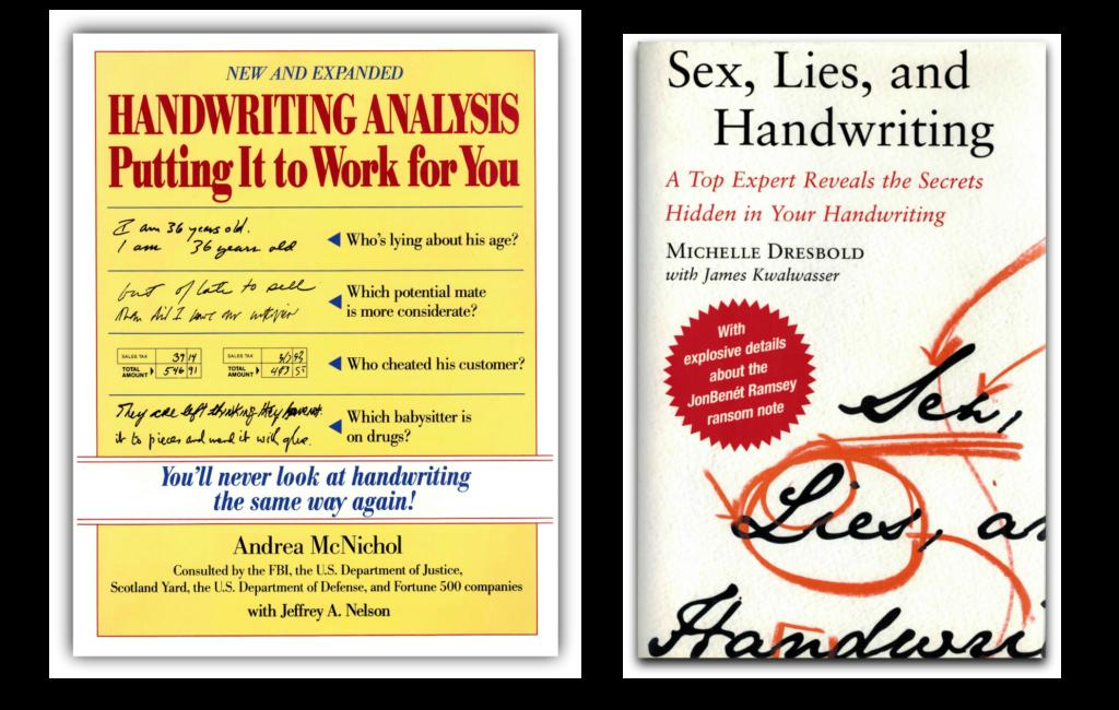 graphology books